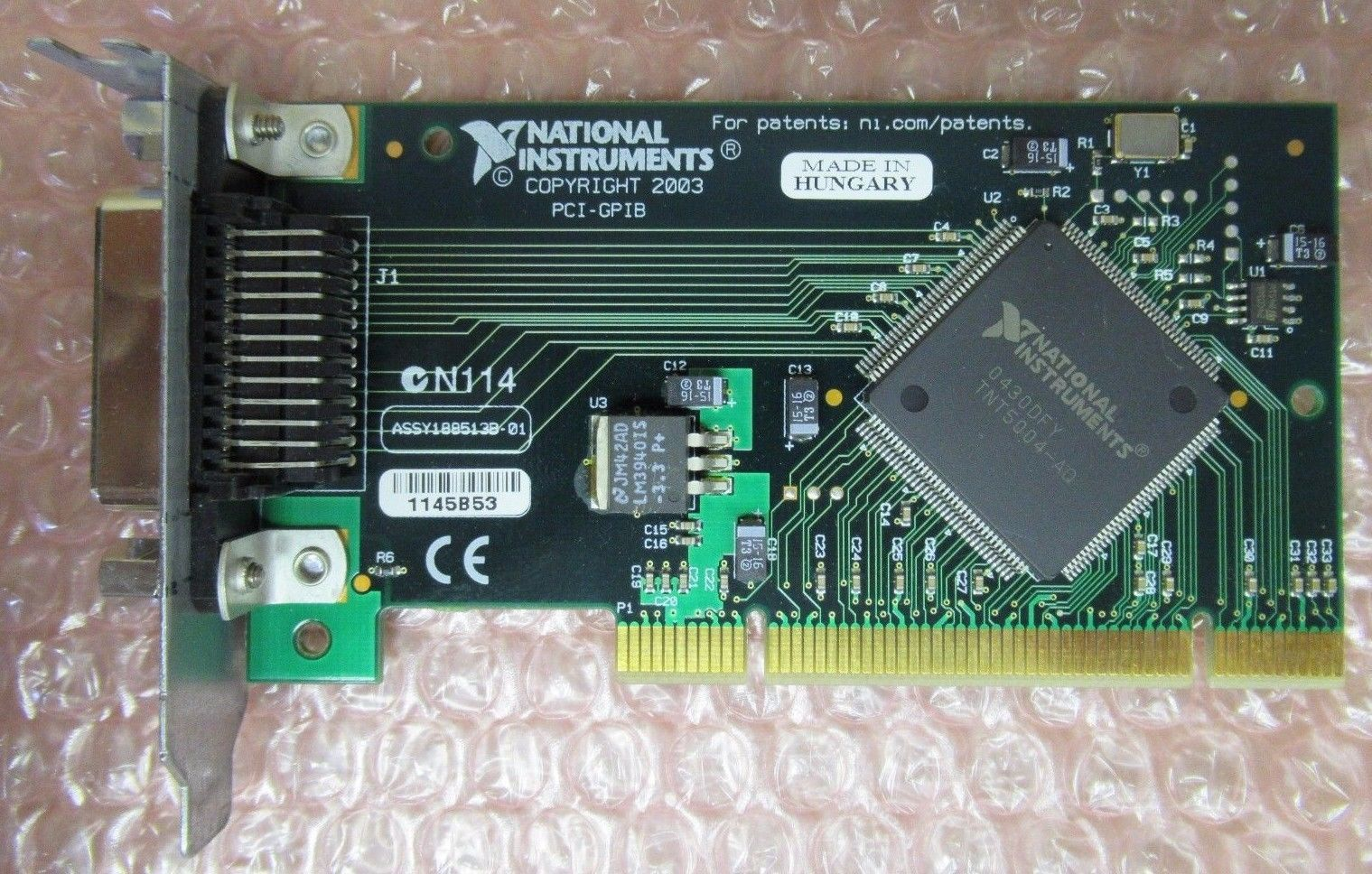 National Instruments PCI-GPIB Low Profile Controller Interface Card